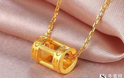 哪里有正规回收潮宏基黄金项链的地方