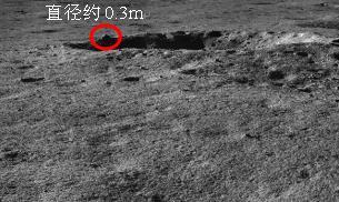 拟探测岩块位置