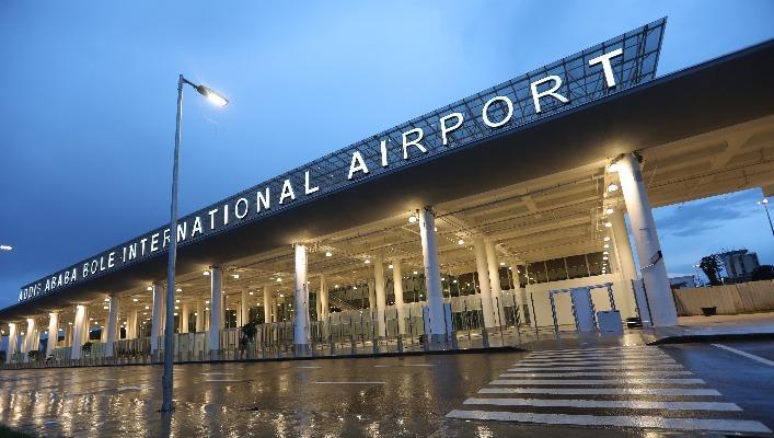 中资企业承建的埃塞俄比亚首都宝利国际机场