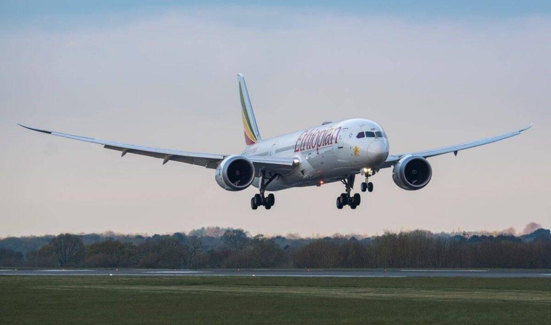 埃塞俄比亚航空飞机