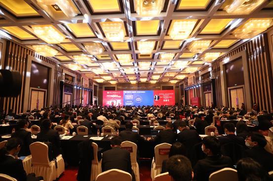 南京银行主办的紫金山·鑫合金融家俱乐部2020年年会现场 新华网 图