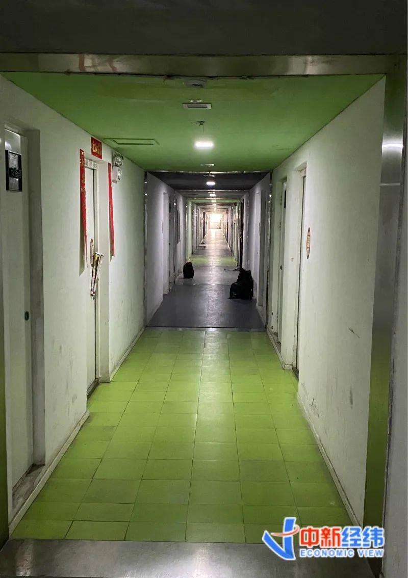 北京像素商住楼走廊