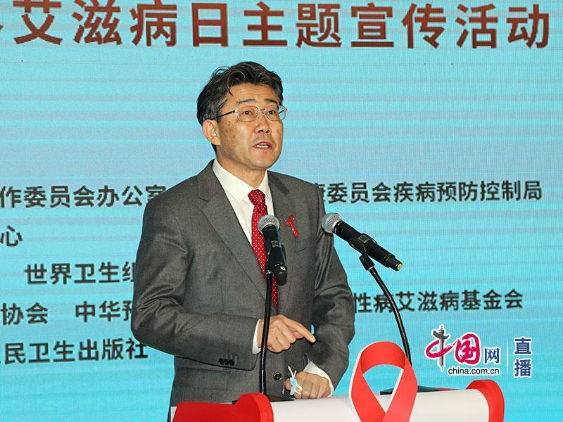 中国疾控中心主任、中国科学院院士高福 中国网 图