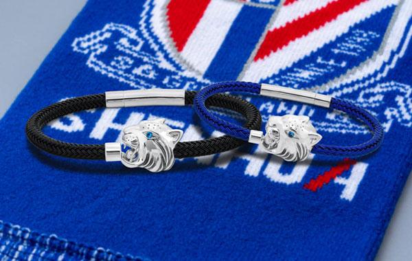 S925合成立方氧化锆手链/另有蓝绳18K金蓝宝石限定版