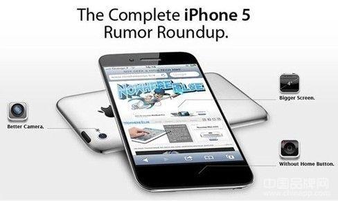 新功能曝光 苹果iPhone5或将9月发布