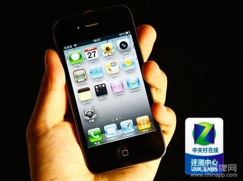 图为 苹果iPhone 4