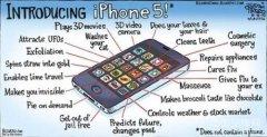 苹果iPhone 5 五大变化狂想