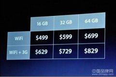 苹果ipad2价格曝光