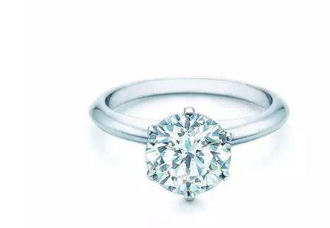 六爪订婚钻戒( Tiffany⑧Setting 系列)