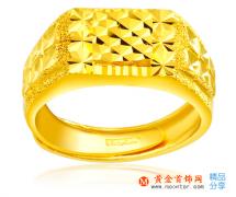 男士黄金戒指图片欣赏 男士黄金戒指款式如何选