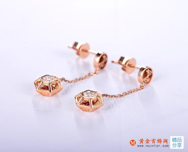 耳环,耳环搭配,黄金首饰网