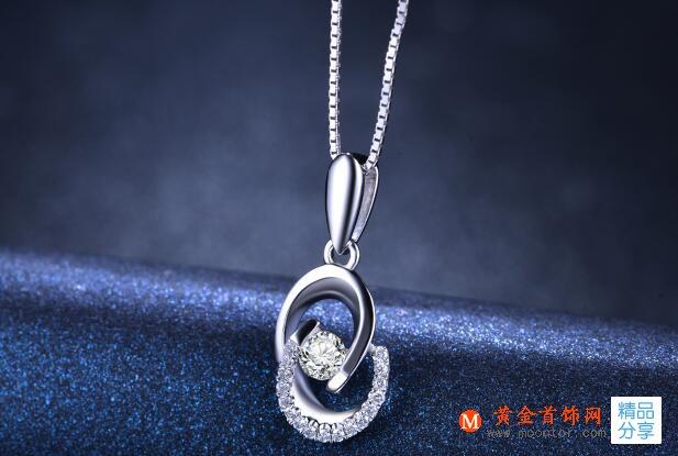 项链,钻石项链,黄金首饰网
