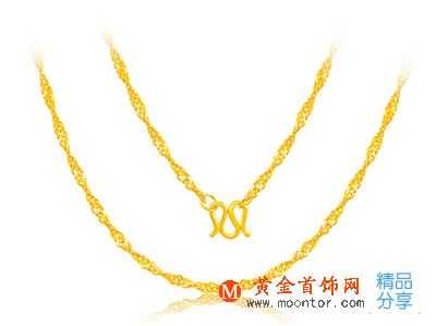 项链,黄金项链,黄金首饰网项链