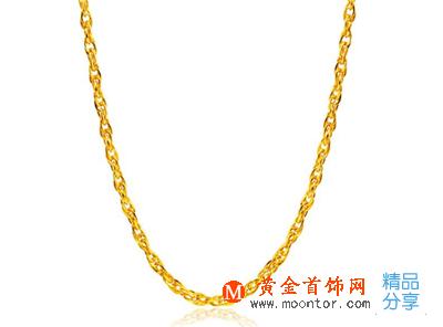项链,黄金项链,女士项链