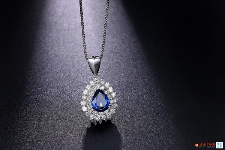 黄金首饰网蓝宝石项链的保养