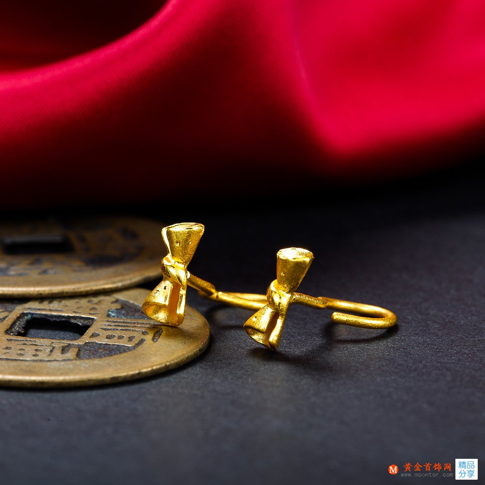 耳钉,黄金耳钉,黄金首饰网耳钉