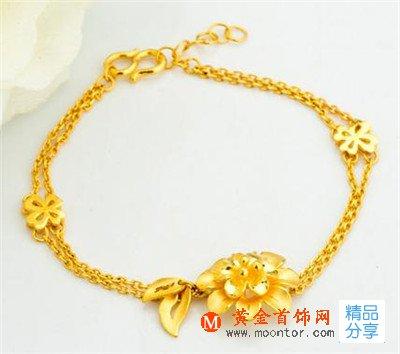 手链,千足金手链,黄金首饰网