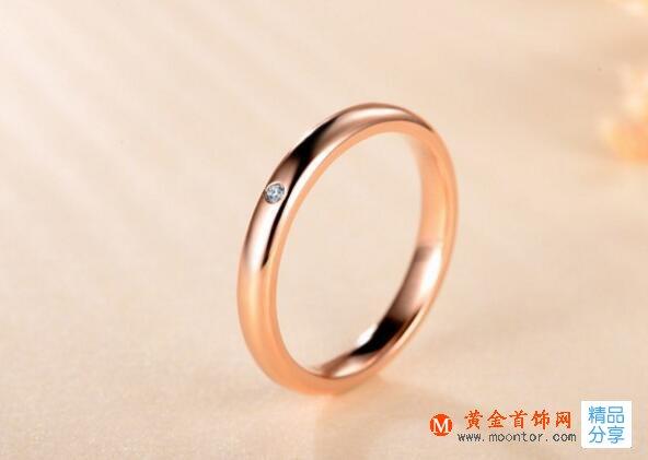玫瑰金戒指代表什么 玫瑰金戒指寓意