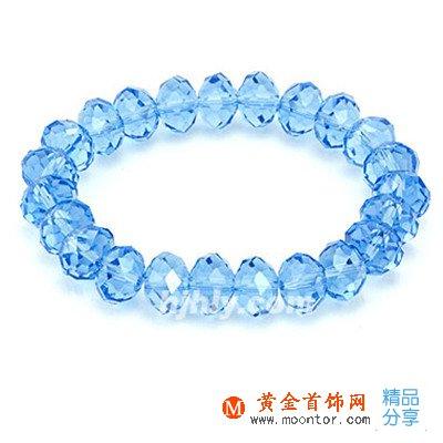 水晶手链,手链,黄金首饰网手链