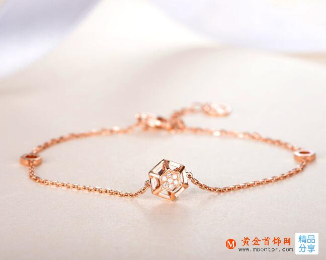 k金手链,手链,黄金首饰网手链