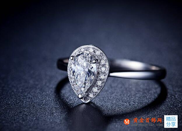水滴形钻石戒指如何保养