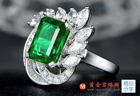 祖母绿,戒指,祖母绿戒指