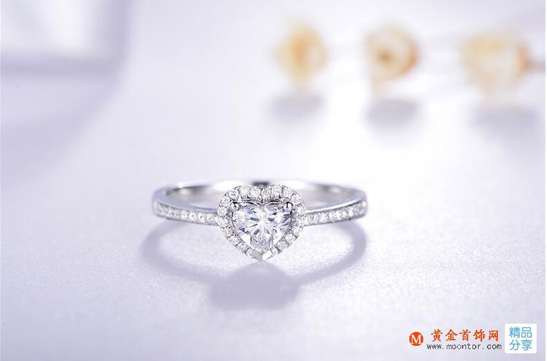 黄金首饰网钻石戒指选购