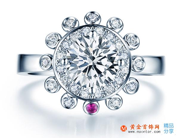 一克拉钻石戒指,一克拉钻戒价格,一克拉钻戒多少钱,一克拉钻戒款式