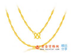 贵重的黄金项链应该如何维持光泽