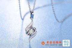 白金钻石吊坠有哪些款式