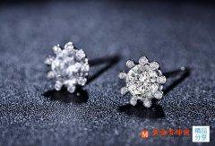 Au750钻石耳环一般多少钱一对