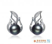 黑珍珠耳环 黑珍珠耳环的选购