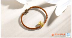 黄金红绳手链一般多少钱 黄金红绳手链价格