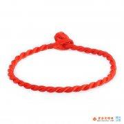 红绳手链  带红绳手链的意义