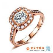 玫瑰金戒指贵吗
