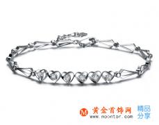 如何挑选白金钻石手链