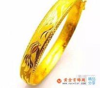 黄金手镯,不同款式的寓意