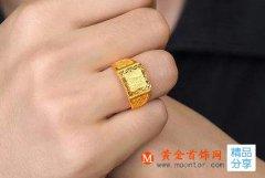 男人带多少克黄金戒指合适?男人黄金戒指戒指合适大小指导