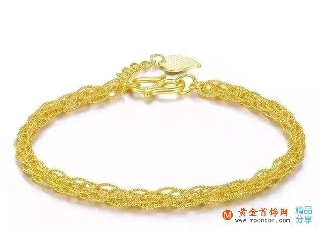 女士黄金手链款式,好看的黄金手链怎么挑?
