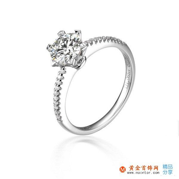 》》点击进入【锦绣】 PT950铂金38分/0.38克拉钻石戒指