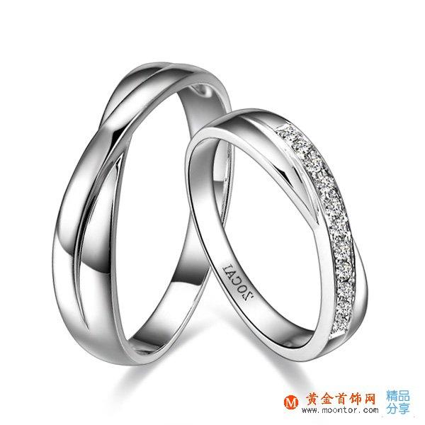 》》点击进入【相遇】 ww珠宝首饰网 PT95015分/0.15克拉铂金戒指