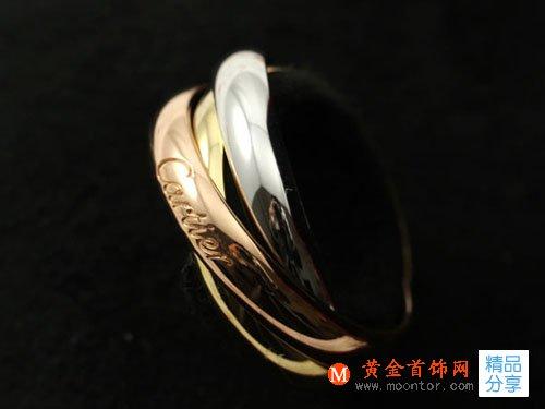 卡地亚三色金戒指如何保养