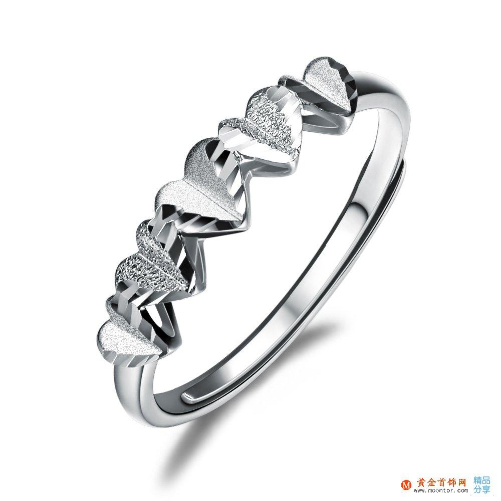 铂金戒指,铂金,ww珠宝首饰网戒指