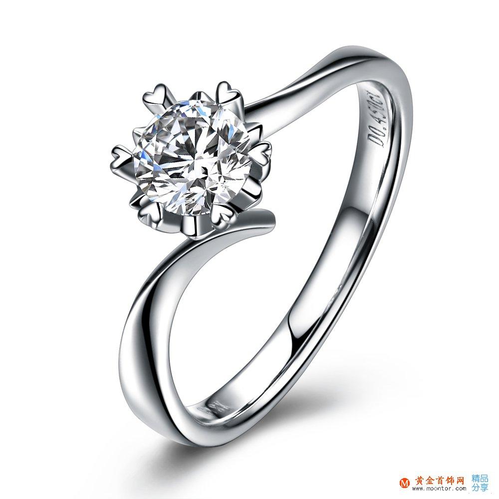 铂金戒指,戒指,ww珠宝首饰网戒指