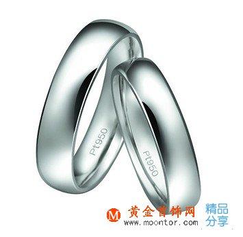 白金戒指,戒指,ww珠宝首饰网戒指