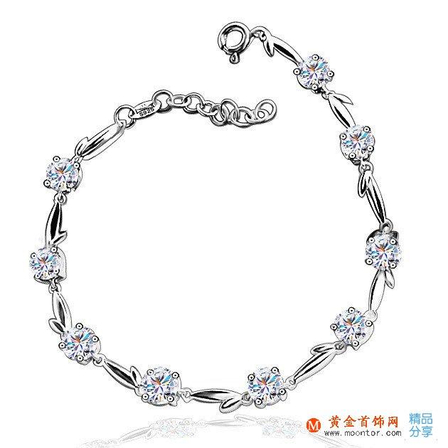 白金手链,白金,ww珠宝首饰网手链