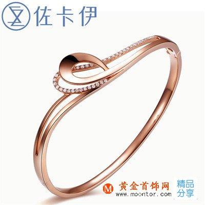 玫瑰金钻戒,玫瑰金,ww珠宝首饰网钻戒