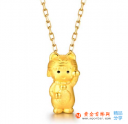 黄金吊坠黄金项链如何保养清洗