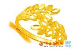 结婚用的黄金戒指多少钱一克