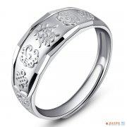 银戒指多少钱一克  银戒指一克多少钱